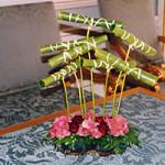 květinová dekorace rautu od květinářství floridoor
